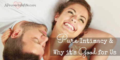 Intimacy Is Good For Us