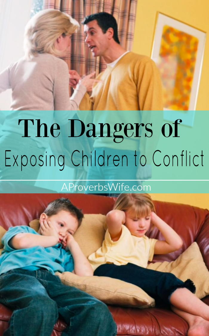 The Dangers of Exposing Children to Conflict