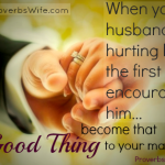"""Becoming Our Husband's """"Good Thing"""""""