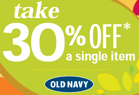 old navy coupon 30 off