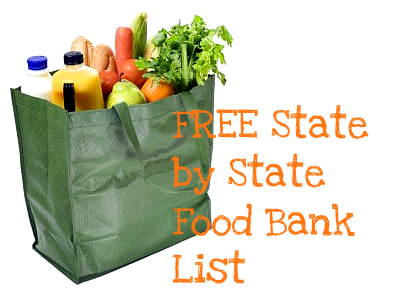 Free State By State Food Bank List Get Free Help With