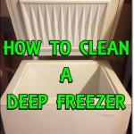 How To Clean A Deep Freezer