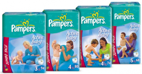 Pampers Coupons From P&g
