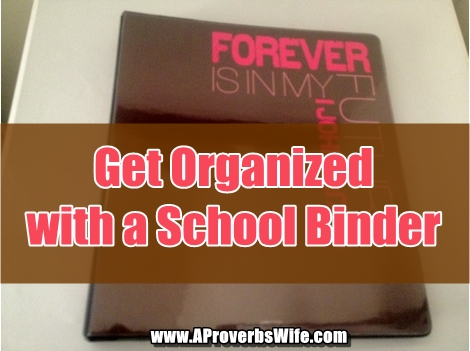 School Year Binder Tutorial AProverbsWife.com