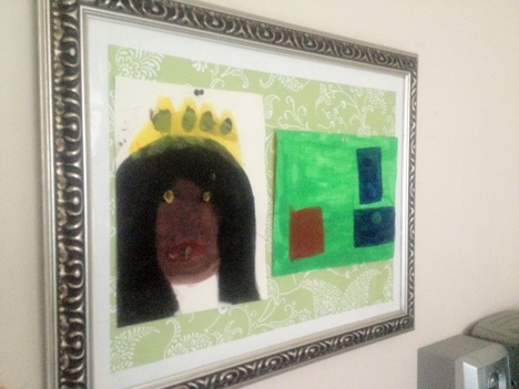 Do it yourself kids artwork display frame do it yourself kids artwork display frame solutioingenieria Gallery
