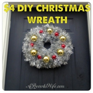 DIY Christmas Wreath | AProverbsWife.com