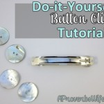 DIY Button Clip Tutorial