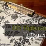 DIY Clipboard Tutorial at AProverbsWife.com