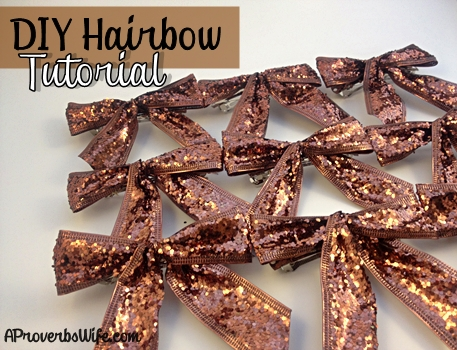 DIY Hair Bows Blog Post Image
