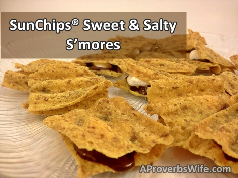 SunChips Recipe Inspiration - Sweet & Salty Smore's