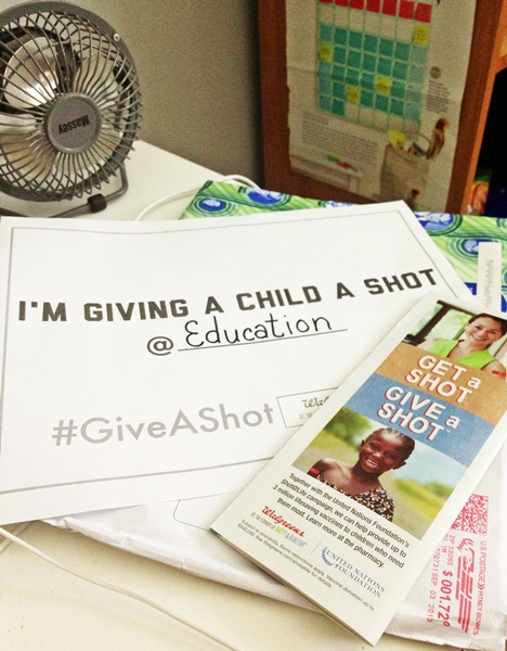 Mission Field Checklist #GiveAShot #shop