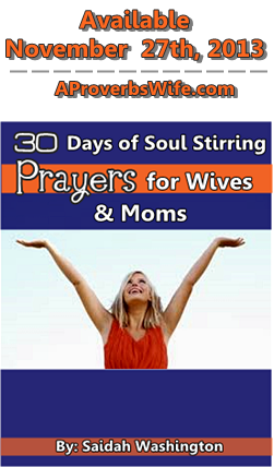 30 Days of Soul Stirring Prayers for Wives and Moms 250x317 Pre Launch Image
