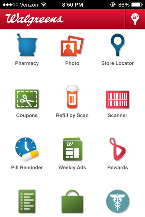 Walgreen's Photo App  #shop