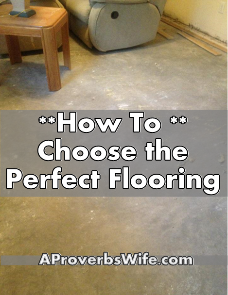 How to Choose the Perfect Flooring