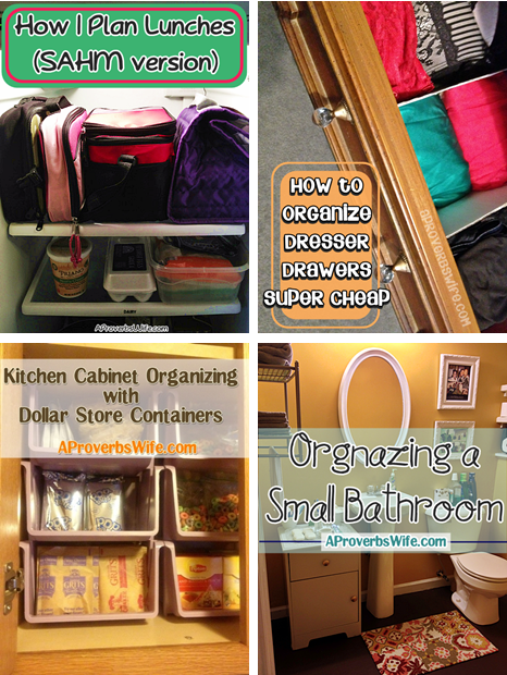 12 Frugal Ideas to Inspire You to Get Organized at Home