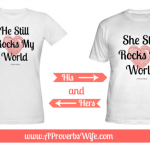 Rocks My World Tees