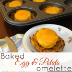 Baked Egg and Potato Omelette