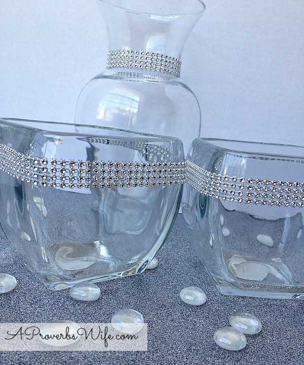 DIY Sparkly Container Tutorial