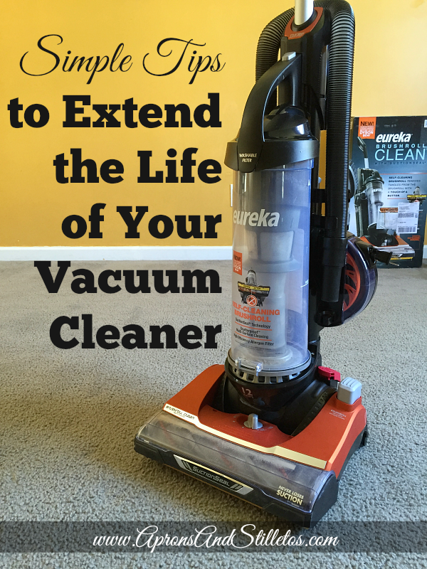 Simple Tips to Extend the Life of Your Vacuum Cleaner