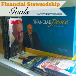 Financial Stewardship Goals