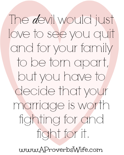Fight for Your Marriage