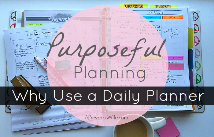 Why Use a Daily Planner