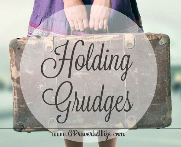 Holding Grudges and How to Stop