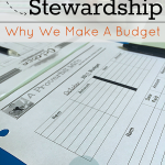 Why We Make A Budget