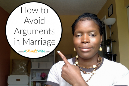 How to Avoid Arguments in Marriage