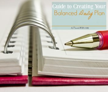 Guide to Creating Your Balanced Daily Plan