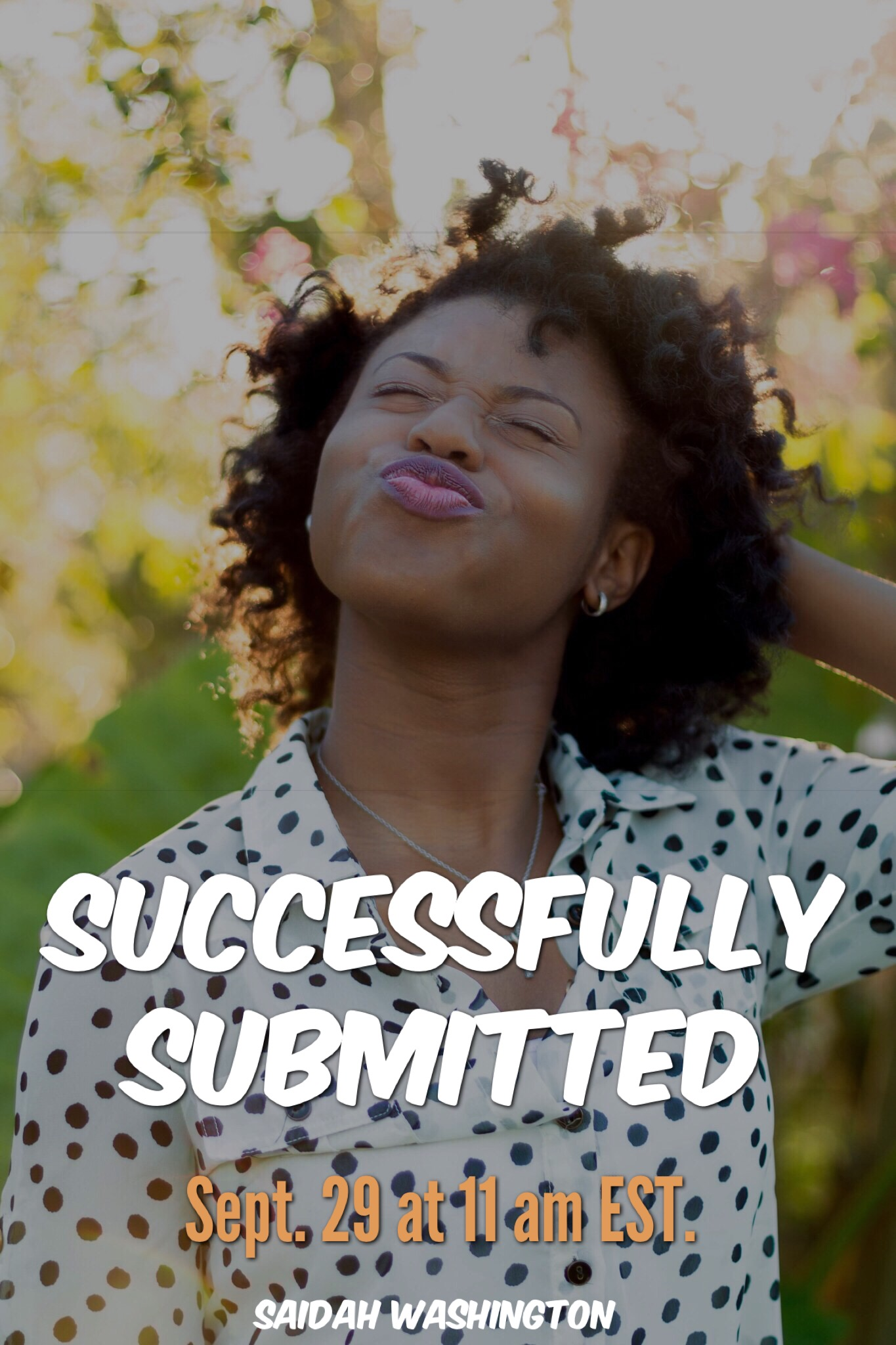 Successfully Submitted